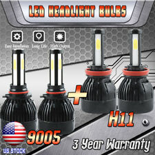 9005 H11 LED Headlight Bulb for GMC Sierra 1500 2500 HD Terrain Yukon Hi/Lo Beam