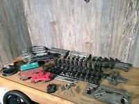 Vintage Allstate & Marx Electric Train Set For Parts Or Repair H5