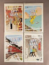 Spy Seal #1 2 3 4 Image Rich Tommaso Comic Book Set 1-4 Complete Mini Series