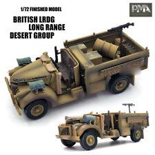 WWII BRITISH LRDG Long Range Desert Group 1/72 NON DIECAST MODEL Jeep PMA