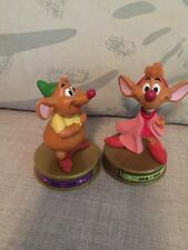 Disney McDonald's 100 Years of Magic JAQ & GUS mice from CINDERELLA McDonalds