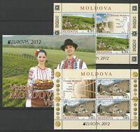 Moldova 2012 CEPT Europa MNH Booklet