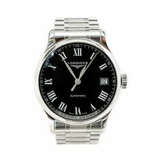 LONGINES MASTER COLLECTION L.2.689.4 BLACK DIAL SKELETON AUTOMATIC MENS WATCH