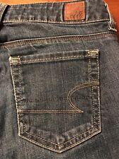 American Eagle 77 Straight Leg Women's Stretch Jeans Size 0 X 31