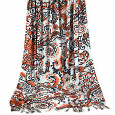 Large Beach Sarong Wrap - Floral & Fern Design - Holley Day