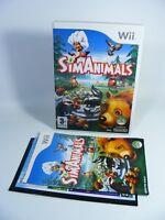 SIMANIMALS für Nintendo Wii Spiel EU-Version mit OVP und Anleitung