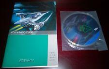 ASRock 4Core1600-D800 Original Installation Guide & Driver CD II31W-14 (4 Lang)
