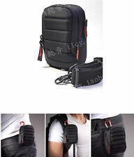 Armor Multifunction Camera Case Bag For Sony RX100 II III IV V M2 M3 M4 M5 HX90