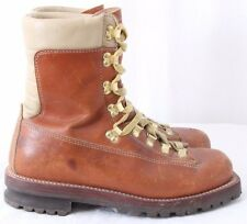 Montblanc 86112-667 Vtg 1970's Mountaineering Hiking Boots Men's US 8.5D