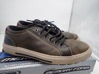 Skechers Porter Ressen Oxford Sneakers Brown - Men's Size 9.5 M