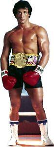 "Stallone -  Rocky Balboa -72"" Tall Life Size Cardboard Cutout Standee"