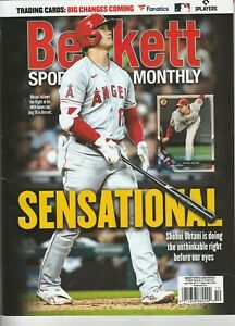 CURRENT NEW BECKETT MONTHLY PRICE GUIDE MAGAZINE OCTOBER 2021, (SHOHEI OHTANI)