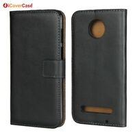 Luxury Leather Wallet Flip Stand Case Cover For Motorola Moto Z3 Play