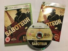 XBOX 360 GAME / videogame THE SABOTEUR COMPLETE PAL