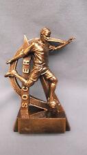 male Soccer statue trophy resin star Rf2718