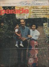 Ron Nessen Autographed Parade Newspaper 1974 Former White House Press Secretary