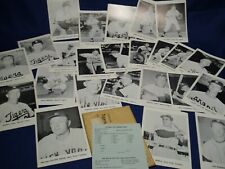 Detroit Tigers & Yankees 12 each  Picture Pak from Big League Books 1961