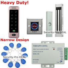 Waterproof 125KHz RFID Card+Password Door Access Control+ Electromagnetic Lock
