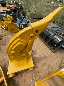 Cat 325 Frost Tooth Ripper Caterpillar Excavator Bucket Attachment FREE SHIPPING