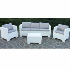 salotto da esterno giardino rattan set rattan COLORADO 3 set bar pub salottino