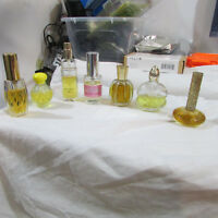 LOT Vintage Perfume Random sizes bottles