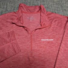 VINEYARD VINES 1/4 ZIP POLY SPANDEX GOLF PULLOVER--XL-WHALE--BEAUTIFUL!--PERFECT