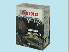 Malta cemento refrattario forno barbecue camino kg 5  brixo 365365