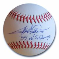 "Stan Williams Signed Autographed MLB Baseball Dodgers ""59 W.S. Champs"" w/COA"