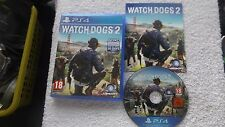 WATCH DOGS 2 watchdogs PLAYSTATION 4 PS4 V.G.C. FAST POST ( action/adventure )