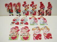 Vintage Valentines 1950s Kids Rockets Fireman Records Monkey Elephant Unused