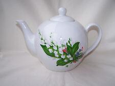 * Tea for two *  Teekanne mit Maiglöckchen aus Porzellan