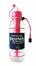 $averPak Single -Includes 1 Seychelle 20oz Sports Bottle PINK w/ STANDARD Filter