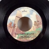 """The Dells The Power of Love Gotta Get Home to My 45 7"""" Mercury Northern Soul VG+"""
