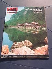 vie du rail 1976 1530 ROMANS BOURG DE PéAGE MOIRANS CHABONS VERNIER MEYRIN ETG