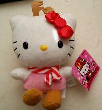 "Hello Kitty Christmas Reindeer 7"" Plush Toy Collectible"