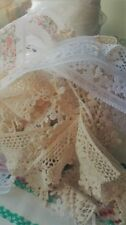 Lace with Antique/Vintage Craft Fabrics