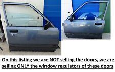Toyota Tercel AL25 wagon 4WD 1982 - 86 Front Left + Right Door Window Regulators