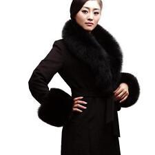 Frauen Real Fox Pelzkragen Schal Schal Stola Lager Restpreis Winter Wrap