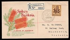 1960 AUSTRALIAN NATIVE FLOWERS 2'5 PRE-DECIMAL STAMP WESLEY FIRST DAY COVER#60.2