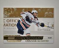 2020-21 UD Series 1 Predominant Gold #PR-3 Connor McDavid - Edmonton Oilers