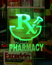 Pharmacy LED Light Sign with Remote Control Switch