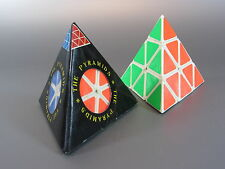 Vintage 1980's THE PYRAMIDS TRIANGLE RUBIKS CUBE PUZZLE MINT IN BOX Made Taiwan