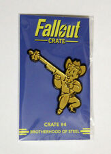 Fallout 4 76 2 3 New Vegas Crate # 4 Brotherhood of Steel Pin Xbox One PS4