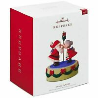 Hallmark Keepsake 2018 Kissing Clauses Musical Ornament With Motion