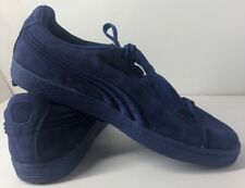 NEW NWOB Men's Shoes Puma Suede Classic Twilight Blue 362594-11 Size 9.5 *read*
