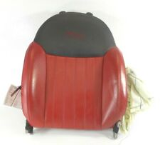 12-16 Fiat 500 Lounge 2 Door Front Passenger Right Upper Seat Back Cushion OEM