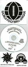 Original WFL Radio Broadcast on CD - Memphis Southmen vs SoCal Sun - 1974