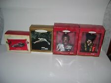 HALLMARK KEEPSAKE STAR TREK CHRISTMAS TREE ORNAMENTS; 12 OF THEM (NIB)