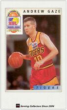 1993 Futera Australia Basketball Cards NBL Honours Award H2: Andrew Gaze