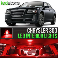 2011-2017 Chrysler 300 Red Interior LED Lights Kit Package